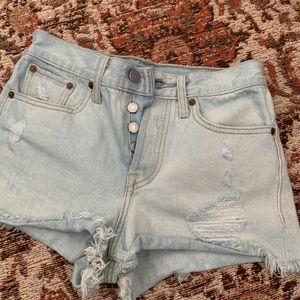 Levi's Shorts - Vintage Levi Denim Shorts